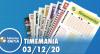 Resultado da Timemania - Concurso nº 1571 - 03/12/2020
