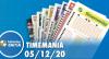 Resultado da Timemania - Concurso nº 1572 - 05/12/2020
