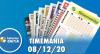 Resultado da Timemania - Concurso nº 1573 - 08/12/2020