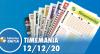 Resultado da Timemania - Concurso nº 1575 - 12/12/2020