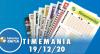 Resultado da Timemania - Concurso nº 1578 - 19/12/2020