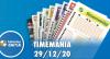 Resultado da Timemania - Concurso nº 1582 - 29/12/2020
