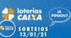 Loterias Caixa: Mega Sena, Quina, Lotofácil 13/01/2021