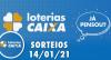 Loterias Caixa: Quina, Lotofácil, Dupla Sena e mais 14/01/2021