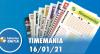 Resultado da Timemania - Concurso 1589 - 16/01/2021