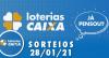 Loterias CAIXA: Mega Sena, Quina, Lotofácil e mais 28/01/2021