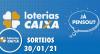 Loterias CAIXA: Mega-Sena, Quina, Lotofácil e mais 30/01/2021