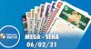 Resultado da Mega-Sena - Concurso nº 2342 - 06/02/2021