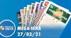 Resultado da Mega Sena - Concurso nº 2356 - 27/03/2021