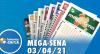 Resultado da Mega Sena - Concurso nº 2358 - 03/04/2021