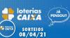Loterias CAIXA: Mega Sena, Quina, Lotofácil e mais 08/04/2021