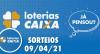 Loterias Caixa: Quina, Lotofácil, Lotomania 09/04/2021