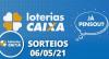 Loterias Caixa: Mega Sena, Quina, LotofáciL e mais 06/05/2021