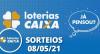 Loterias CAIXA: Mega Sena, Quina, Lotofácil e mais 08/05/2021