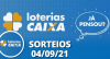 Loterias CAIXA: Mega Sena, Quina, Timemania e mais 04/09/2021