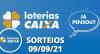 Loterias CAIXA: Quina, Dupla Sena e mais 09/09/2021