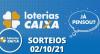 Loterias CAIXA: Mega Sena, Quina, Lotofácil e mais 02/10/2021