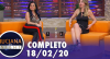 Luciana by Night com Gretchen (18/02/20) | Completo