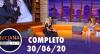Luciana by Night recebe Léo Áquilla (30/06/2020) - Completo