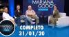 Mariana Godoy aborda o holocausto e conversa com Léo Von (31/01/20)