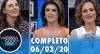 Mariana Godoy Entrevista com Glenda Kozlowski e Faa Morena (06/03/2020)