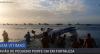 Avião de pequeno porte faz pouso forçado e cai no mar de Fortaleza