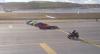 Supermoto bate jato, carro elétrico e carro de F1 em corrida na Turquia