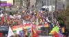 Milhares de pessoas fazem manifestação contra a extrema-direita na Europa