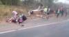 Acidente entre carreta e grupo de ciclistas deixa mortos e feridos em MG