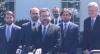 Eduardo Bolsonaro e Ernesto Araújo se reúnem com Trump nos EUA