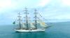 Navio veleiro brasileiro participa de evento em Lisboa, capital de Portugal