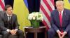 Donald Trump e Volodymir Zelensky se reúnem após abertura de impeachment