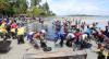 Com óleo, 18 praias de Pernambuco ganham restrição para banho de mar