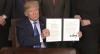 Trump diz que vai retomar tarifas sobre importações de metais do Brasil