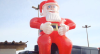 Papai Noel de oito metros é roubado em Belo Horizonte