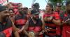 Torcida se despede do Flamengo antes do Mundial de Clubes