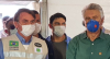 Goiás: Bolsonaro visita obra de hospital de campanha com Caiado e Mandetta