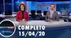 Assista à íntegra do RedeTV News de 15 de abril de 2020