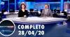Assista à íntegra do RedeTV News de 28 de abril de 2020