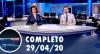 Assista à íntegra do RedeTV News de 29 de abril de 2020