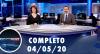 Assista à íntegra do RedeTV News de 4 de maio de 2020