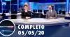 Assista à íntegra do RedeTV News de 5 de maio de 2020