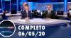 Assista à íntegra do RedeTV News de 6 de maio de 2020