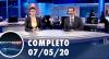 Assista à íntegra do RedeTV News de 7 de maio de 2020