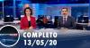 Assista à íntegra do RedeTV News de 13 de maio de 2020