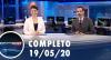 Assista à íntegra do RedeTV News de 19 de maio de 2020