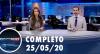 Assista à íntegra do RedeTV News de 25 de maio de 2020
