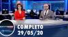Assista à íntegra do RedeTV News de 29 de maio de 2020