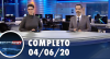 Assista à íntegra do RedeTV News de 04 de junho de 2020