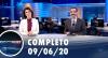 Assista à íntegra do RedeTV News de 9 de junho de 2020
